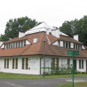 Budynek laboratoryjny, Powsin