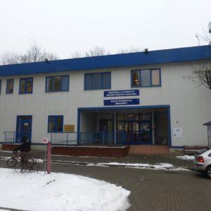 Budynek laboratoryjny szpitala, Warszawa