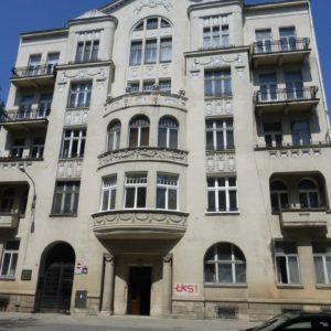 Budynek mieszkalny, Łódź