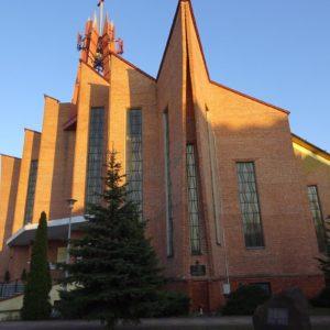 Kościół z domem parafialnym, Ostrowiec Świętokrzyski